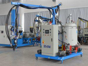 High density china low pressure PU foam-insulation machine EMM084-1