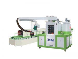 pu mixing and machine dosing for gazket sealing